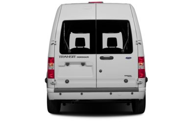 Rear Profile  2013 Ford Transit Connect