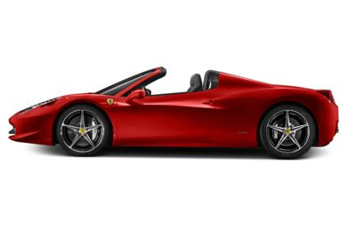 90 Degree Profile 2014 Ferrari 458 Spider
