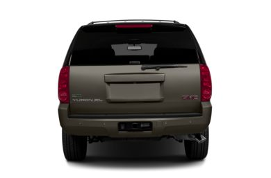 Rear Profile  2013 GMC Yukon XL 2500