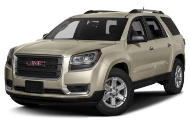 3/4 Front Glamour 2014 GMC Acadia