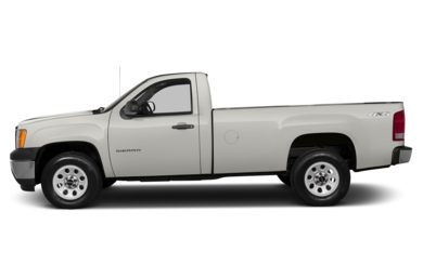 90 Degree Profile 2013 GMC Sierra 1500