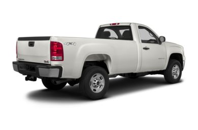 3/4 Rear Glamour  2013 GMC Sierra 2500HD