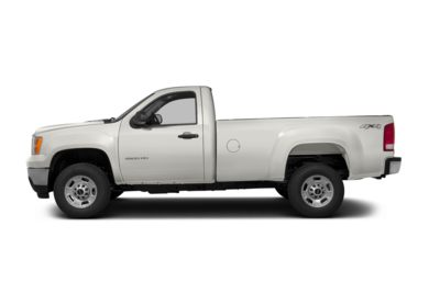90 Degree Profile 2013 GMC Sierra 2500HD