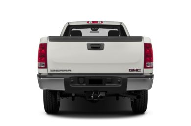 Rear Profile  2013 GMC Sierra 2500HD