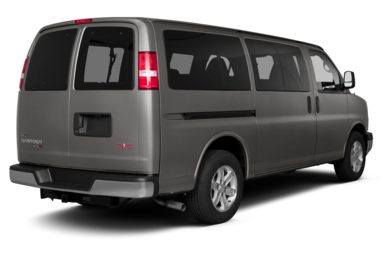 3/4 Rear Glamour  2013 GMC Savana 3500