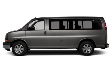 90 Degree Profile 2013 GMC Savana 1500