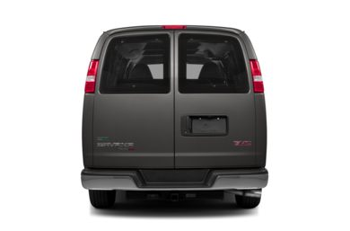 Rear Profile  2013 GMC Savana 3500