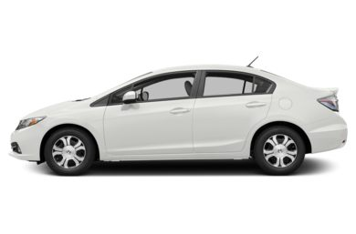 90 Degree Profile 2014 Honda Civic Hybrid