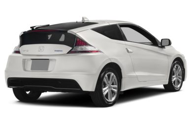 3/4 Rear Glamour  2014 Honda CR-Z