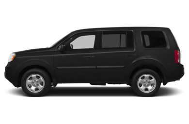 90 Degree Profile 2014 Honda Pilot