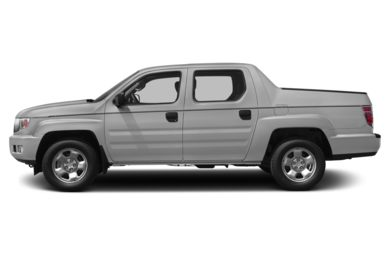 90 Degree Profile 2013 Honda Ridgeline