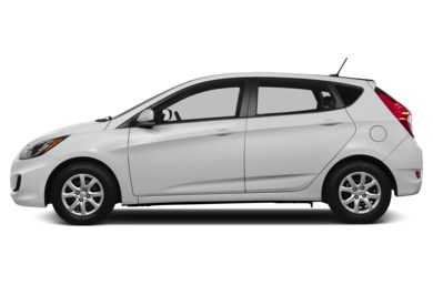 90 Degree Profile 2013 Hyundai Accent