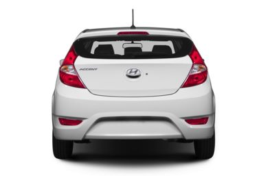 Rear Profile  2013 Hyundai Accent