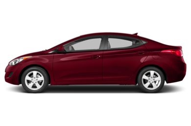 90 Degree Profile 2013 Hyundai Elantra