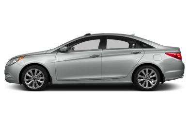 90 Degree Profile 2013 Hyundai Sonata