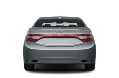 Rear Profile  2013 Hyundai Azera