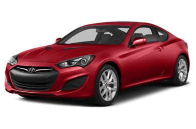 3/4 Front Glamour 2014 Hyundai Genesis Coupe