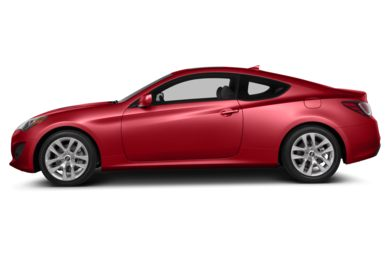 90 Degree Profile 2013 Hyundai Genesis Coupe