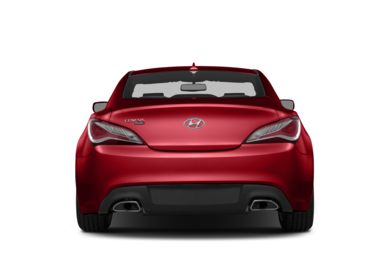 Rear Profile  2013 Hyundai Genesis Coupe
