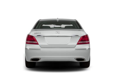 Rear Profile  2013 Hyundai Equus