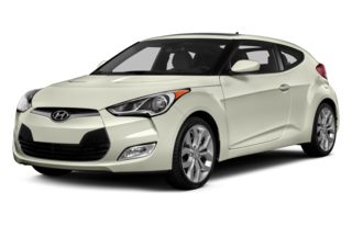 3/4 Front Glamour 2013 Hyundai Veloster