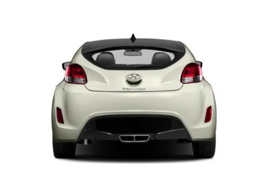Rear Profile  2013 Hyundai Veloster