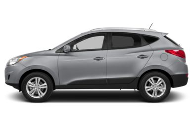 90 Degree Profile 2013 Hyundai Tucson