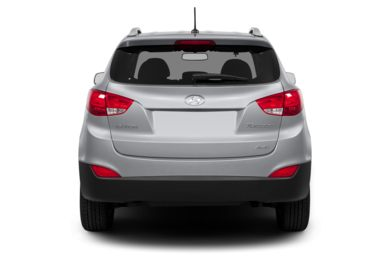 Rear Profile  2013 Hyundai Tucson