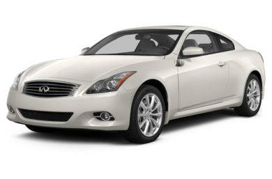 3/4 Front Glamour 2013 Infiniti G37x Coupe