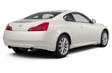 3/4 Rear Glamour  2013 Infiniti G37 Coupe