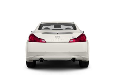Rear Profile  2013 Infiniti G37 Coupe