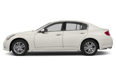 90 Degree Profile 2013 Infiniti G37 Sedan