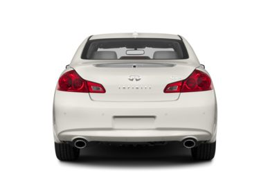 Rear Profile  2013 Infiniti G37x Sedan