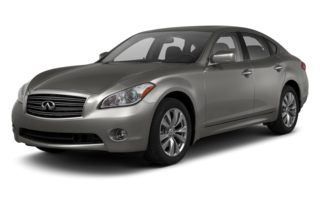 3/4 Front Glamour 2013 Infiniti M56x