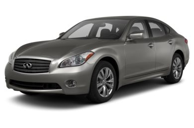 3/4 Front Glamour 2013 Infiniti M56
