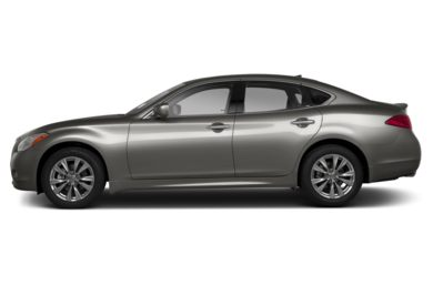 90 Degree Profile 2013 Infiniti M56x
