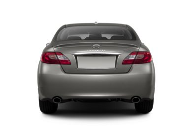 Rear Profile  2013 INFINITI M56