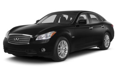 3/4 Front Glamour 2013 INFINITI M35h