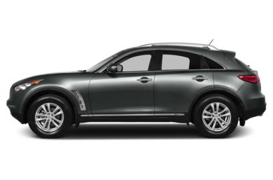 90 Degree Profile 2013 Infiniti FX37
