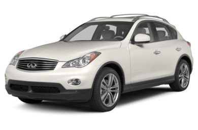 3/4 Front Glamour 2013 INFINITI EX37