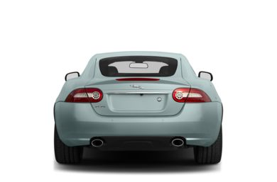 Rear Profile  2013 Jaguar XK
