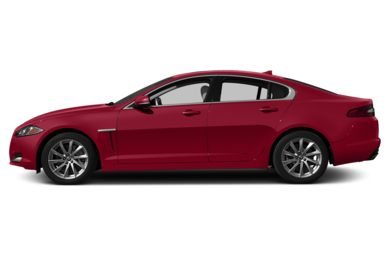 90 Degree Profile 2013 Jaguar XF
