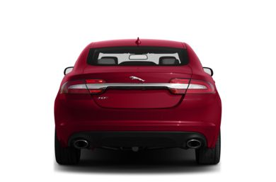 Rear Profile  2013 Jaguar XF