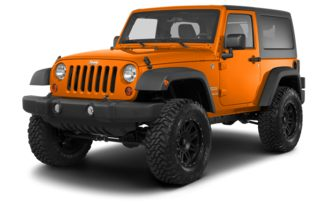 3/4 Front Glamour 2013 Jeep Wrangler