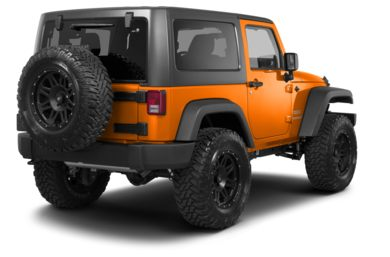 3/4 Rear Glamour  2013 Jeep Wrangler