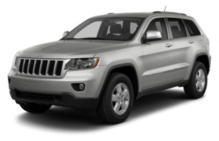 3/4 Front Glamour 2013 Jeep Grand Cherokee