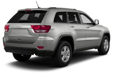 3/4 Rear Glamour  2013 Jeep Grand Cherokee