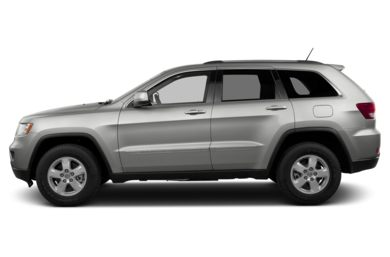 90 Degree Profile 2013 Jeep Grand Cherokee