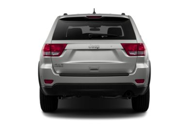 Rear Profile  2013 Jeep Grand Cherokee