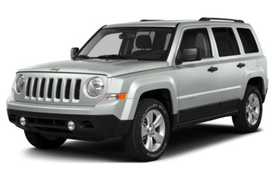 3/4 Front Glamour 2013 Jeep Patriot